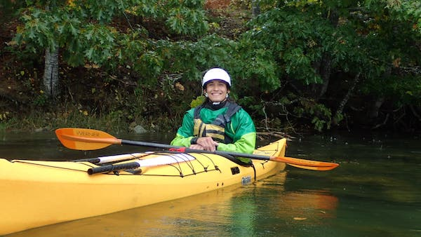 Ted Tetrault, Kayaking Coach with  4-Star Leader Award