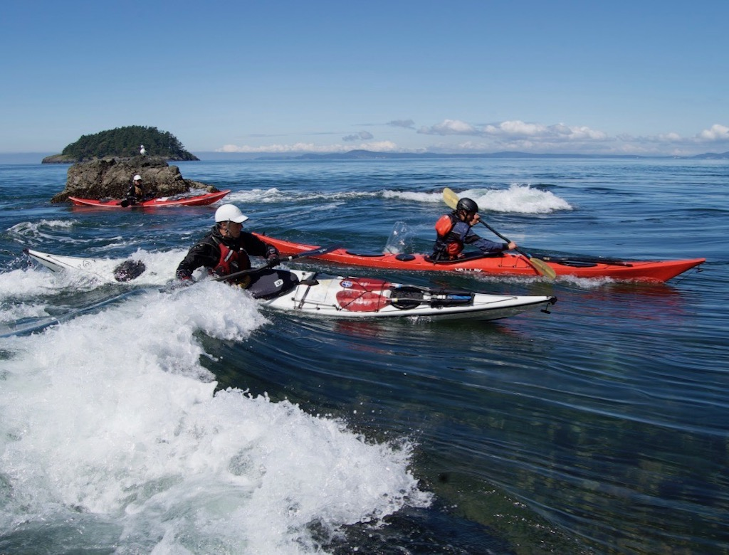 Tidal Currents Class of the San Juan Islands for Kayakers